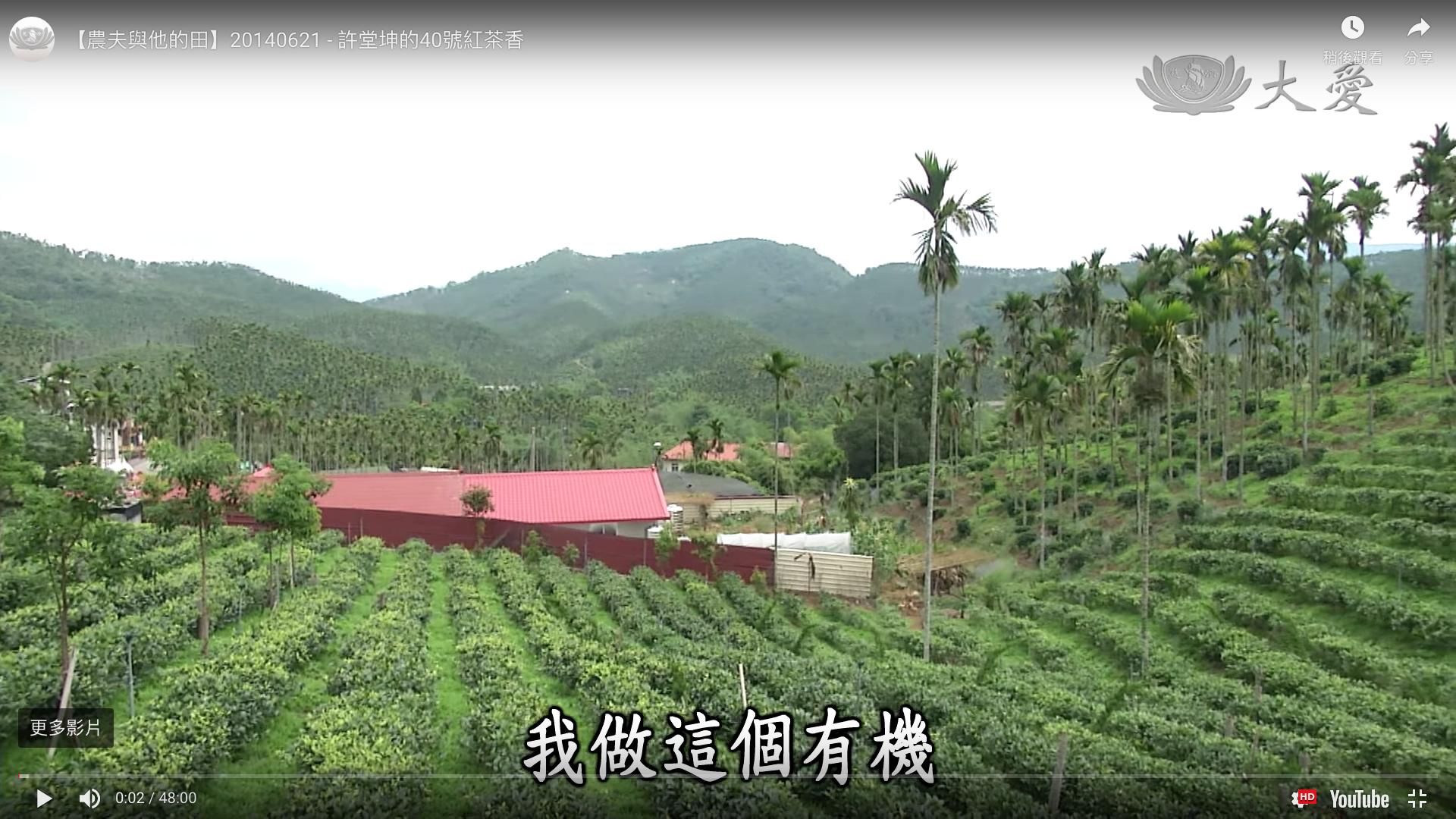 【農夫與他的田】20140621 – 許堂坤的40號紅茶香